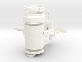1:5 Scale Spectrolab Light - Dissembled in White Processed Versatile Plastic