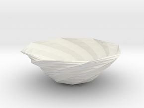 fruit bowl 2 in White Strong & Flexible