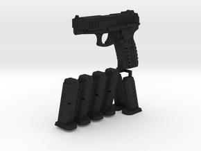 1/6 scale Russian MP443 Grach  in Black Acrylic
