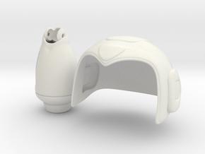 Rock It Pack  in White Natural Versatile Plastic