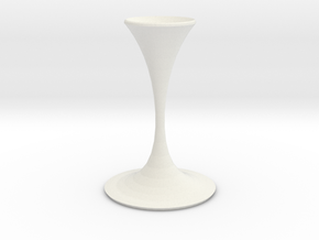 the shadow vase  in White Strong & Flexible