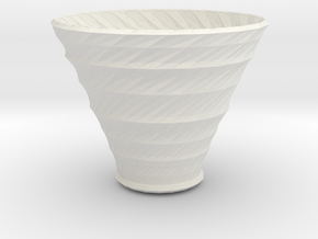 neptune vase in White Strong & Flexible