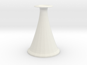 cone vase 2 in White Strong & Flexible