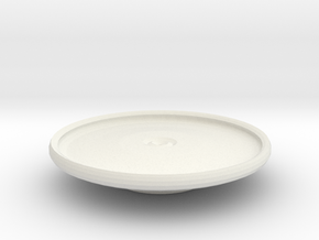 tarrant platter on stand in White Strong & Flexible