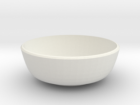 small bowl in White Natural Versatile Plastic
