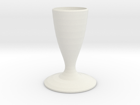 hefty smurf vase  in White Strong & Flexible
