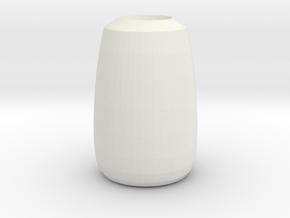 superman vase in White Natural Versatile Plastic