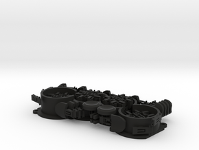 Dodohand Left-hand Finger Components in Black Natural Versatile Plastic