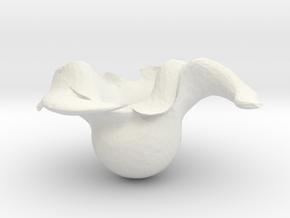 Deszk Prónai Adél in White Strong & Flexible
