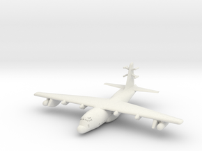 1:700 Lockheed EC-130j Commando Solo Military Airc in White Natural Versatile Plastic