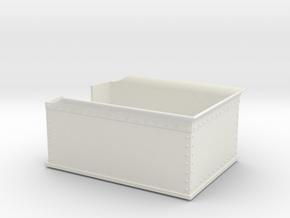 55n2 England Tender Body  in White Natural Versatile Plastic