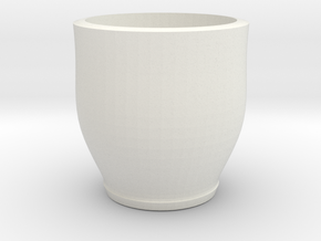 red cap cup 2 in White Natural Versatile Plastic
