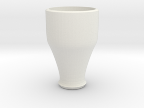 pink cap cup 3 in White Natural Versatile Plastic