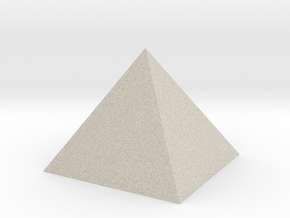 The Great Pyramid in Natural Sandstone