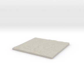 Model of Butterow in Natural Sandstone
