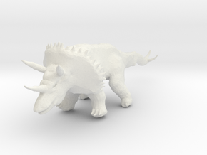 triceratops_06 in White Strong & Flexible