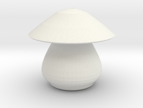 mushroom 2 in White Strong & Flexible