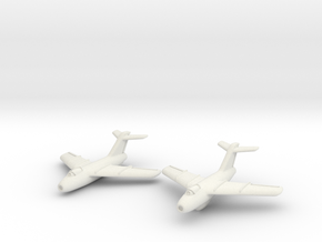 Lavochkin La-15 Fantail (2 planes set) 1/285 6mm in White Natural Versatile Plastic