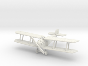 Sopwith Dolphin 1:144th Scale in White Natural Versatile Plastic