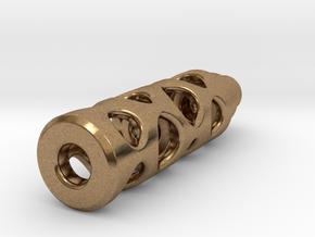 Tritium Lantern 1B (Silver/Brass/Plastic) in Natural Brass