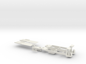 Rom Socimi chassis, H0 in White Strong & Flexible