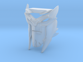 Ultimate TFP Beast King Robot Head Part B in Smooth Fine Detail Plastic