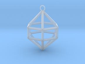 Gem Ornament in Smooth Fine Detail Plastic