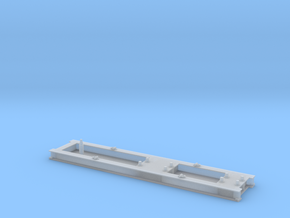 Looping Gelb Container 2  in Smooth Fine Detail Plastic