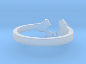 Ring bone in Smooth Fine Detail Plastic