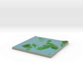 Terrafab generated model Thu Nov 07 2013 12:01:47  in Full Color Sandstone
