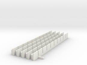 Karosseriehalter 50 in White Natural Versatile Plastic