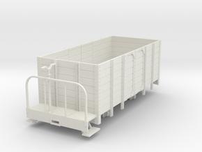 1:32/1:35 highside wagon with brake platform in White Natural Versatile Plastic