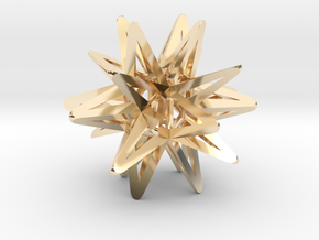 God Star in 14K Yellow Gold