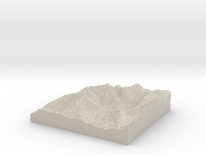 Model of Wasdale Head in Sandstone