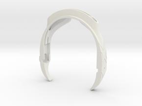 Cyclops Visor in White Natural Versatile Plastic