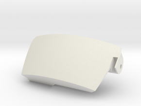 42 Servo Case Half in White Natural Versatile Plastic