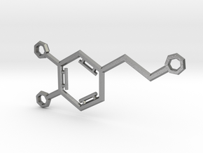 Small Dopamine Molecule in Natural Silver