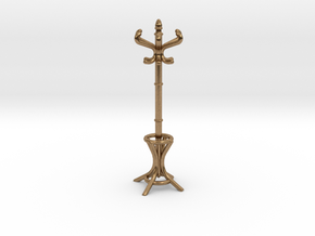 1:48 Hatstand in Natural Brass