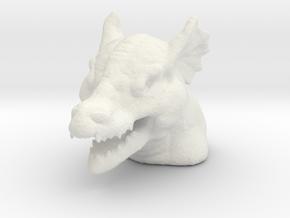 DRAGON MONOPOLY PIECE in White Natural Versatile Plastic