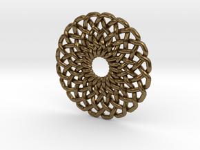 Circular Knot in Natural Bronze