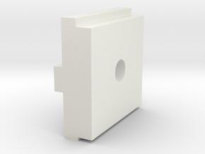 PCB Grip Standoff EM Rev 0.A in White Natural Versatile Plastic