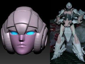 ARCEE homage Oracle Ver  2 for TF PRID  in Frosted Ultra Detail
