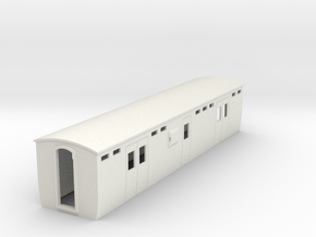 009 colonial modern Lugage brake coach in White Natural Versatile Plastic