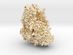 Ricin Toxin in 14K Yellow Gold