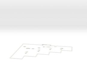 Pontonierow 14 ZBIORCZY - Do Makiety 18 in White Natural Versatile Plastic