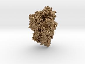 1918 H1 Hemagglutinin in Natural Brass