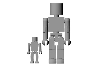 Minimates Child in Smooth Fine Detail Plastic
