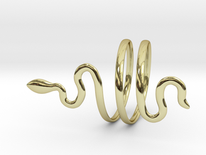 Snake ring - Ancient Rome style Size10 (Usa) in 18k Gold