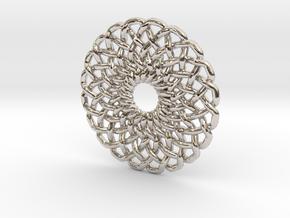 Circular Knot in Platinum