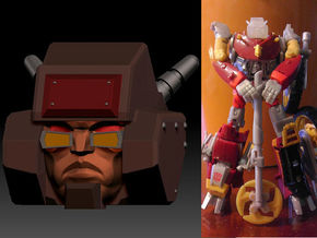 Junkion homage I-ROC For Deluxe TF Gen Wreck R in Smooth Fine Detail Plastic